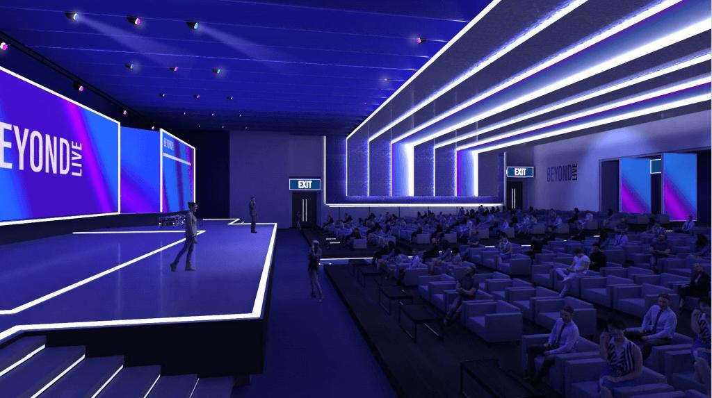 beyondlive virtual speaker