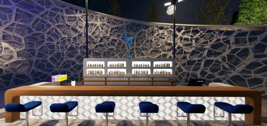 bar at beyondlive virtual event